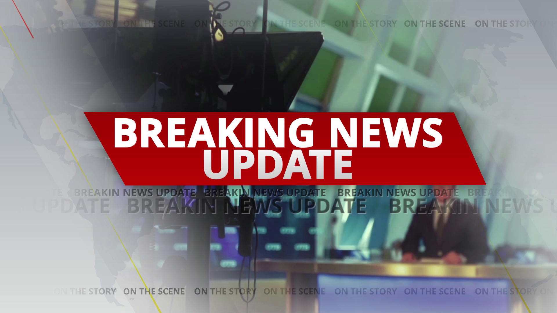 Breaking news graphic pack