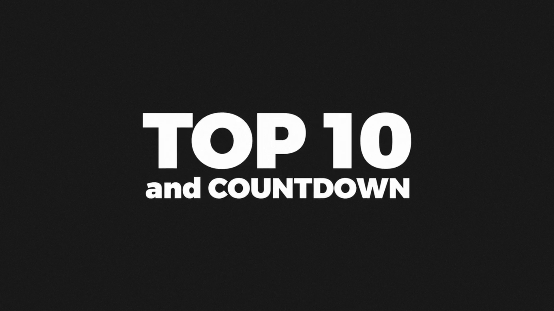 Top 10 Broadcast Package and Countdown