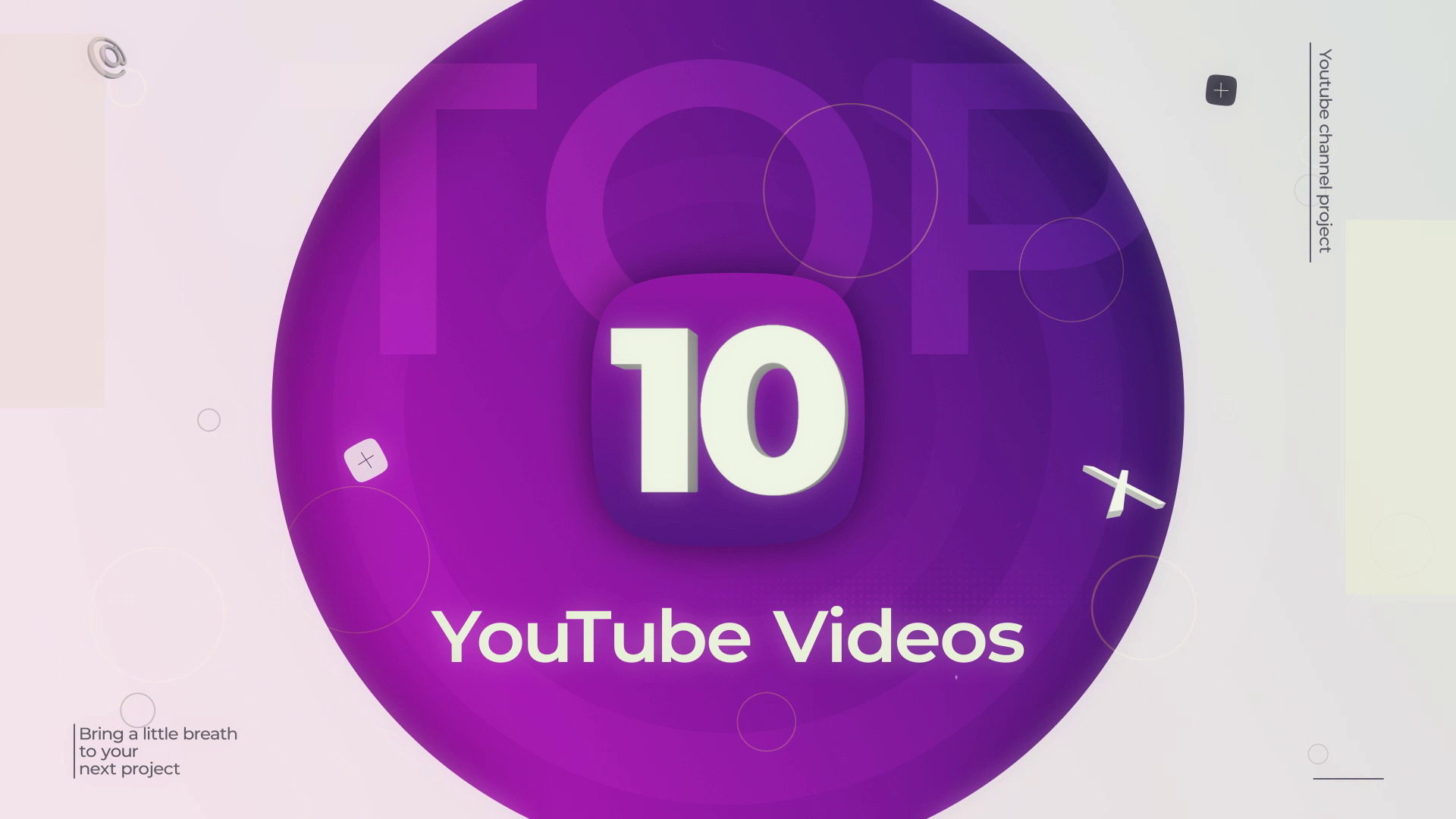 Top 10 YouTube Videos After Effects Templates