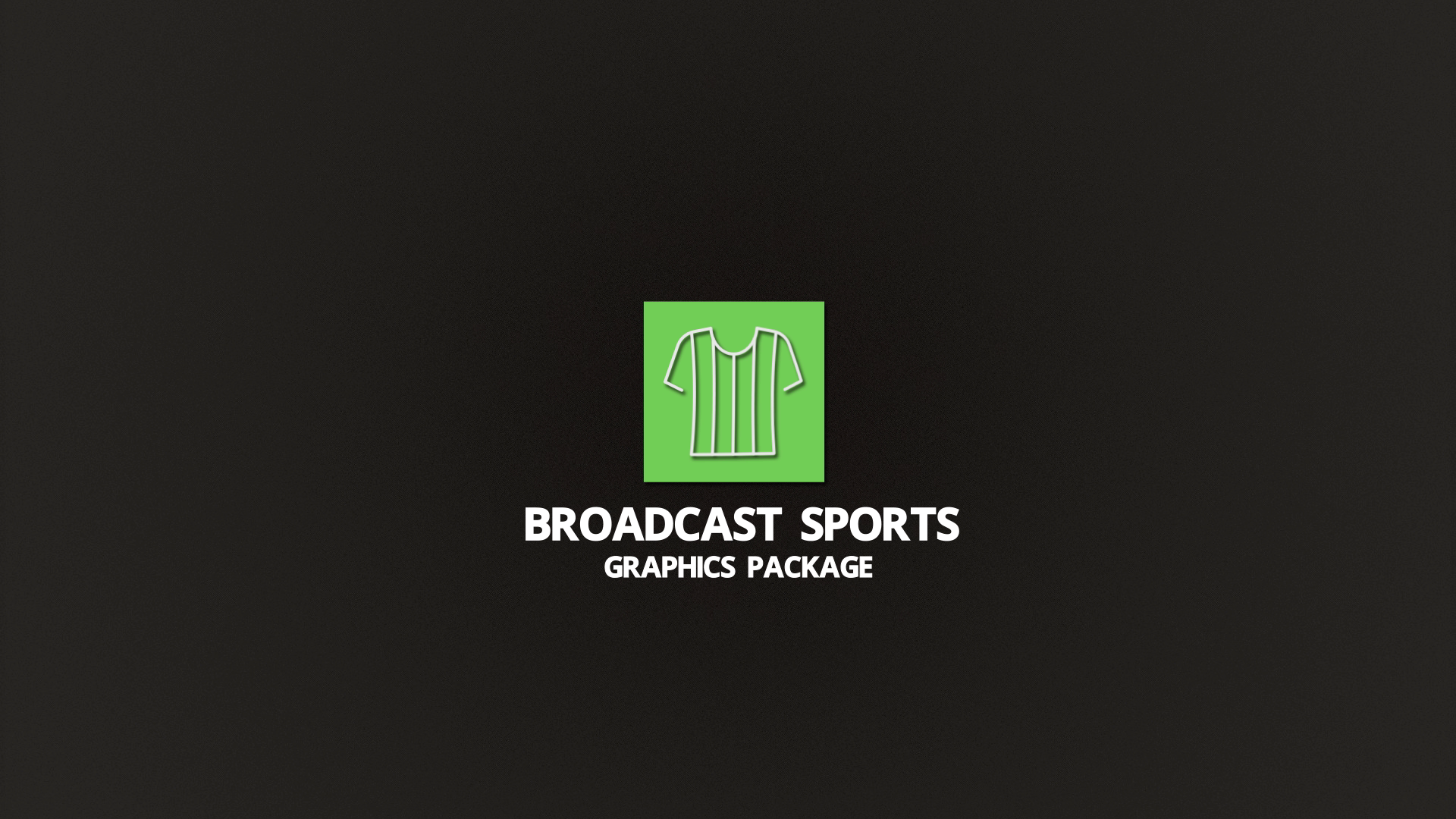 Broadcast Sports Graphics Package Lineup