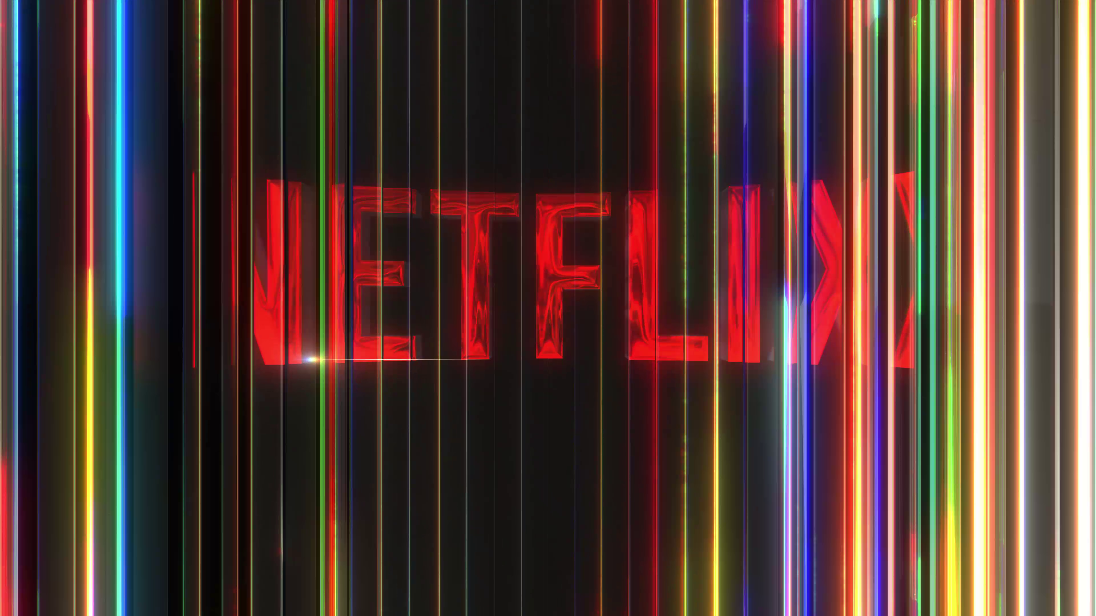 Netflix Logo Style After Effects Template
